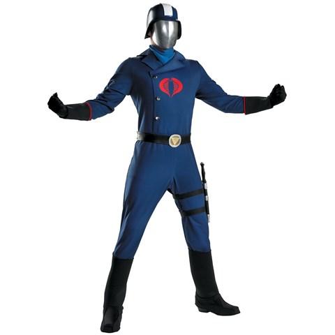 GI Joe - Cobra Commander Adult Costume