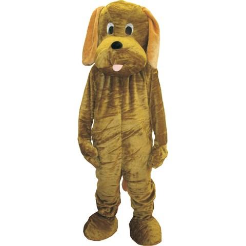 Adult Puppy Mascot Costume Set