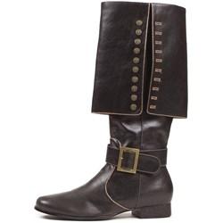 Captain (Black) Adult Boots