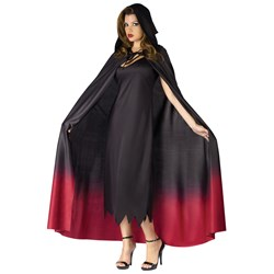 Ombre Hooded Adult Cape