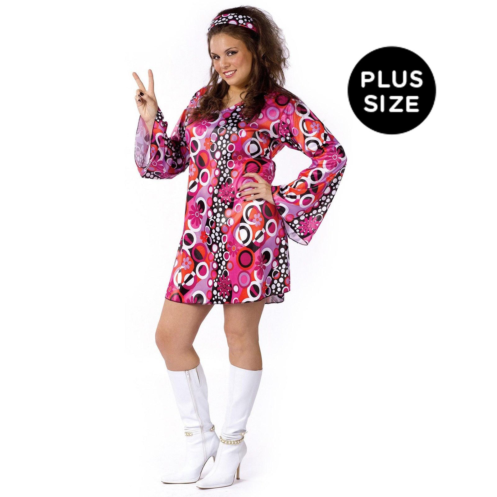 Feelin' Groovy Adult Plus Costume