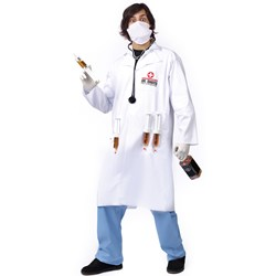 Dr. Shots Adult Costume