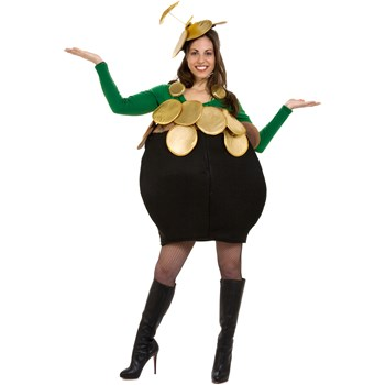 Pot-O-Gold Adult Costume - Costumes
