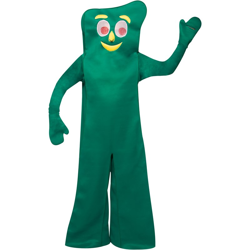 Gumby Adult Costume for the 2015 Costume season.