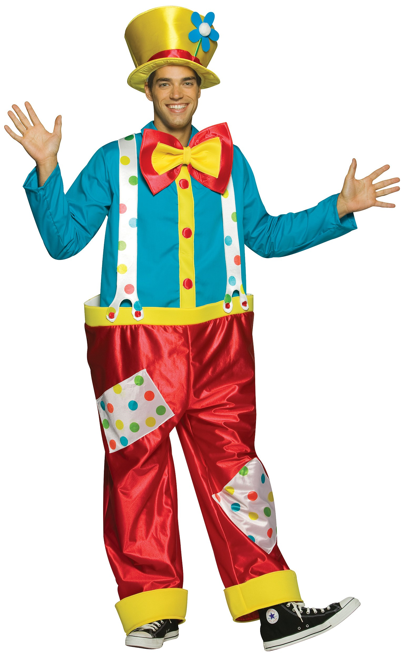 Image of Clown Adult Costume