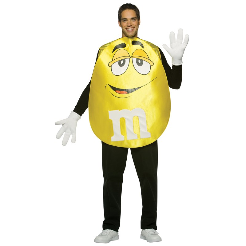MMs Yellow Poncho Adult Costume for the 2015 Costume season.