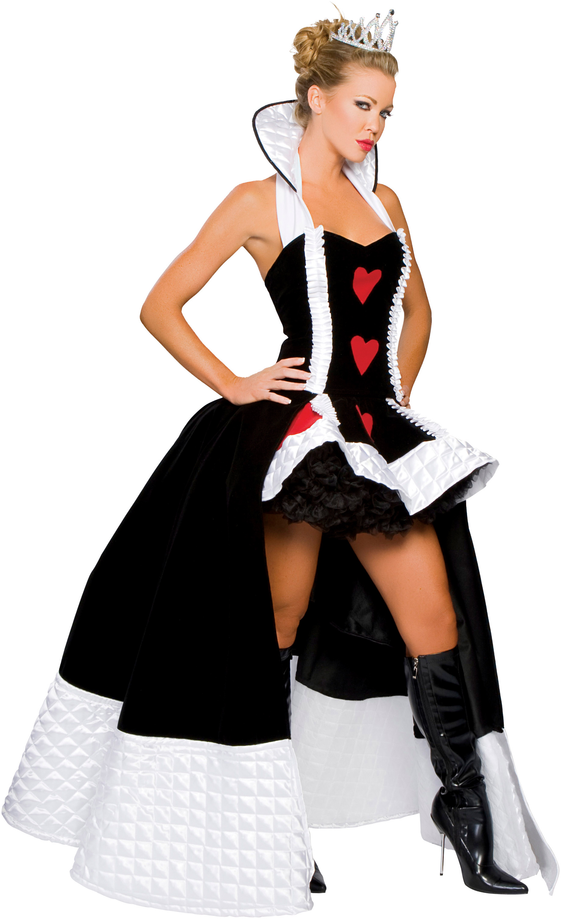 Enchanting Queen of Hearts Adult Sexy Costume