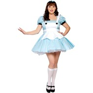 Miss Alice Adult Plus Costume