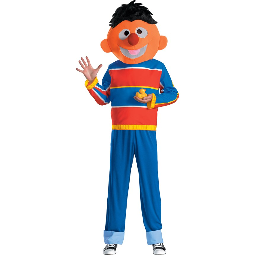 Halloween Costumes Sesame Street Ernie Teen Costume