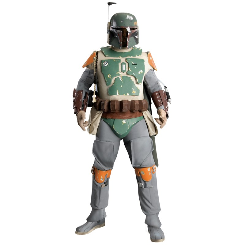 Boba Fett Supreme Edition Adult Costume for the 2015 Costume season.