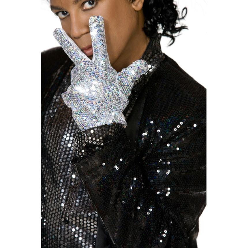 Michael Jackson Billie Jean Motown Glove Adult   Costumes, 61819