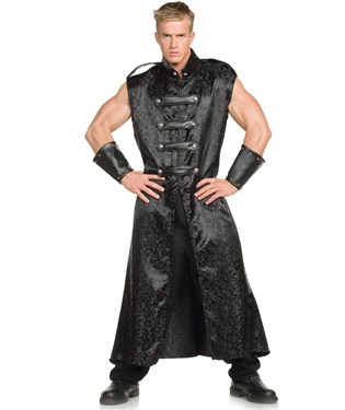 Anime Tunic Black Adult Costume