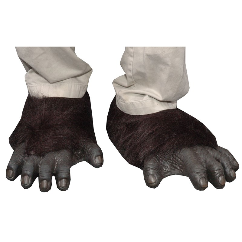 Adult Gorilla Feet for the 2015 Costume season.