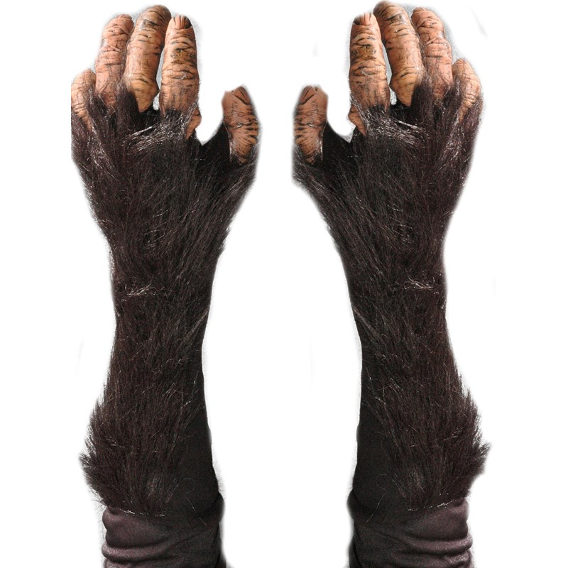 Adult Chimp Gloves for the 2015 Costume season.