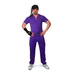 The Big Lebowski Jesus Purple Deluxe Adult Costume