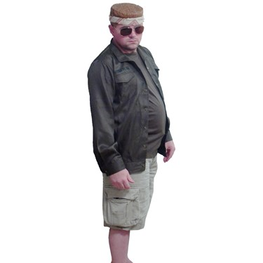 The Big Lebowski Walter Special Mission Adult Costume