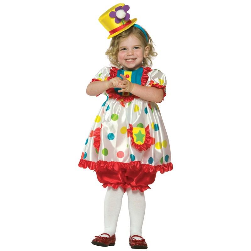 Clown Girl Toddler Costume for the 2015 Costume season.