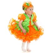 Pumpkin Princess Infant / Toddler Costume