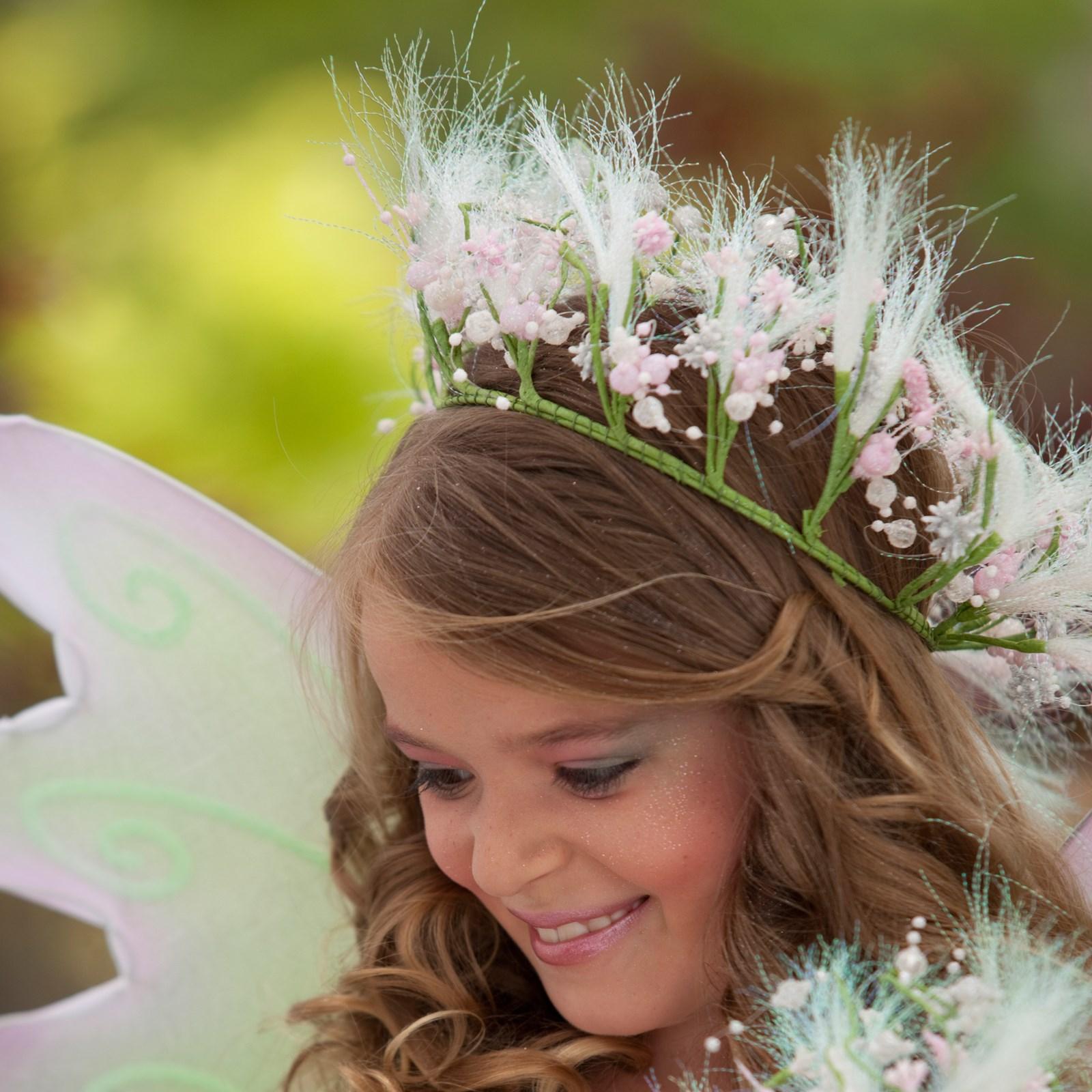 Spring Fairy Child Hair Garland