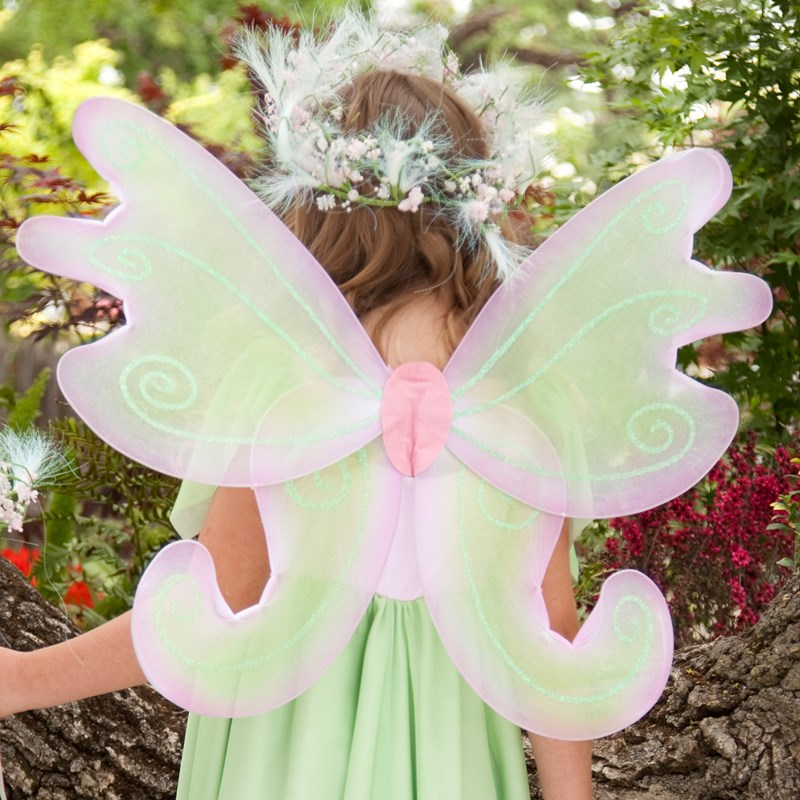 Spring Fairy Child Wings for the 2015 Costume season.