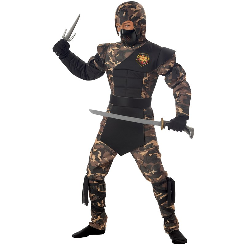 Special Ops Ninja Child Costume for the 2015 Costume season.