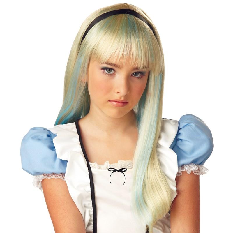 Alice Tween Wig for the 2015 Costume season.