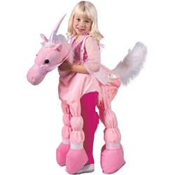 Pink Ride A Unicorn Child Costume