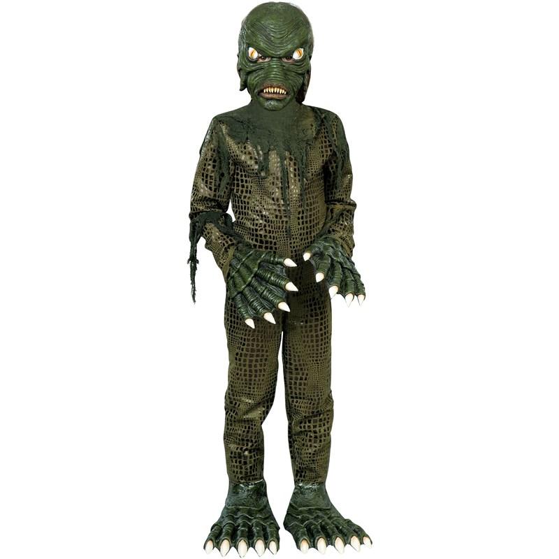 Swamp Monster Child Costume for the 2015 Costume season.