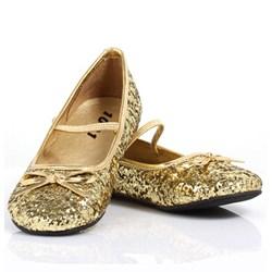Sparkle Ballerina (Gold) Child Shoes