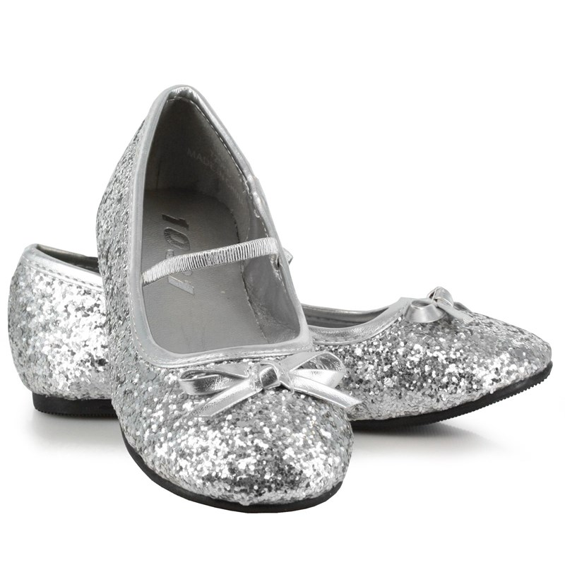 Sparkle Ballerina (Silver) Child Shoes for the 2015 Costume season.
