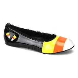 Candy Corn Flat Child Shoes