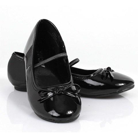 Ballet Flat (Black) Child Shoes