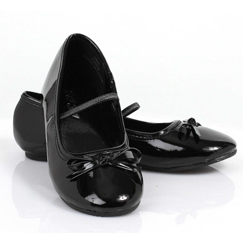 Ballet Flat (Black) Child Shoes for the 2015 Costume season.