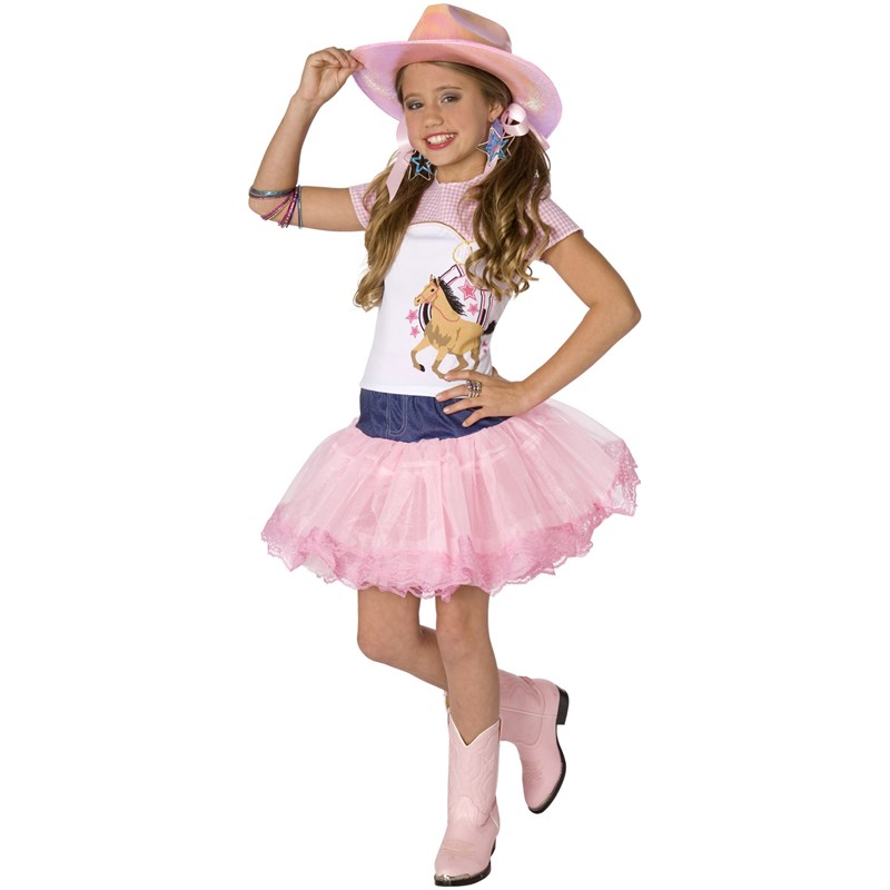 Planet Pop Star Cowgirl Child Costume for the 2015 Costume season.