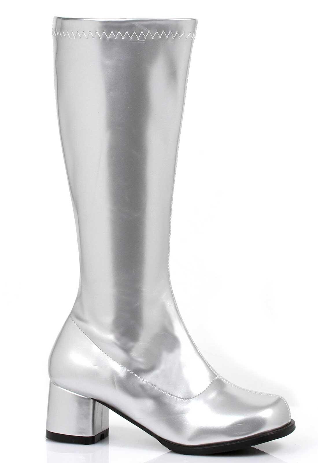 Dora Silver Child Boots