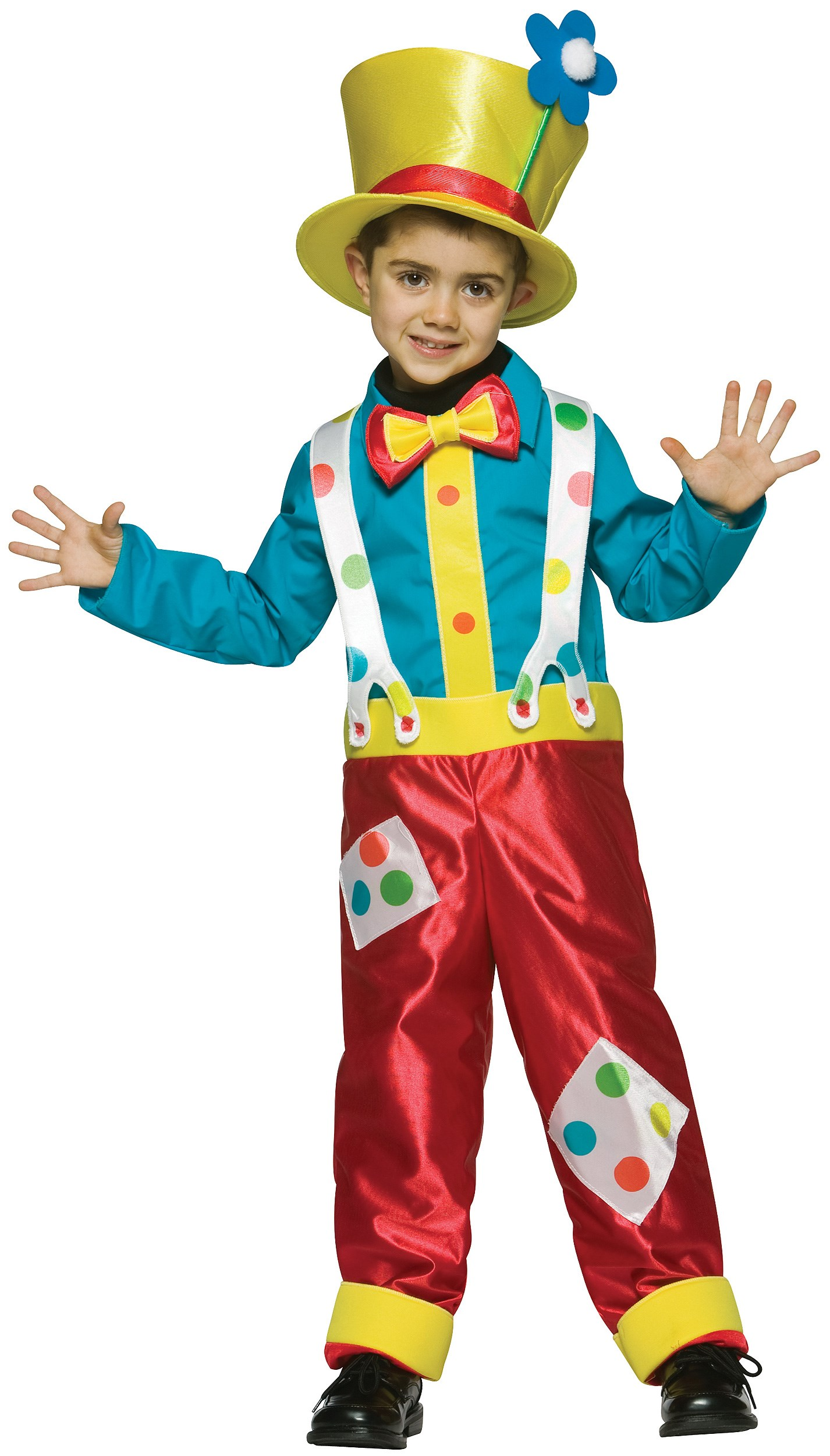 Image of Clown Boy Child Costume