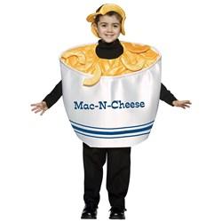 Mac Cheese Child Costume