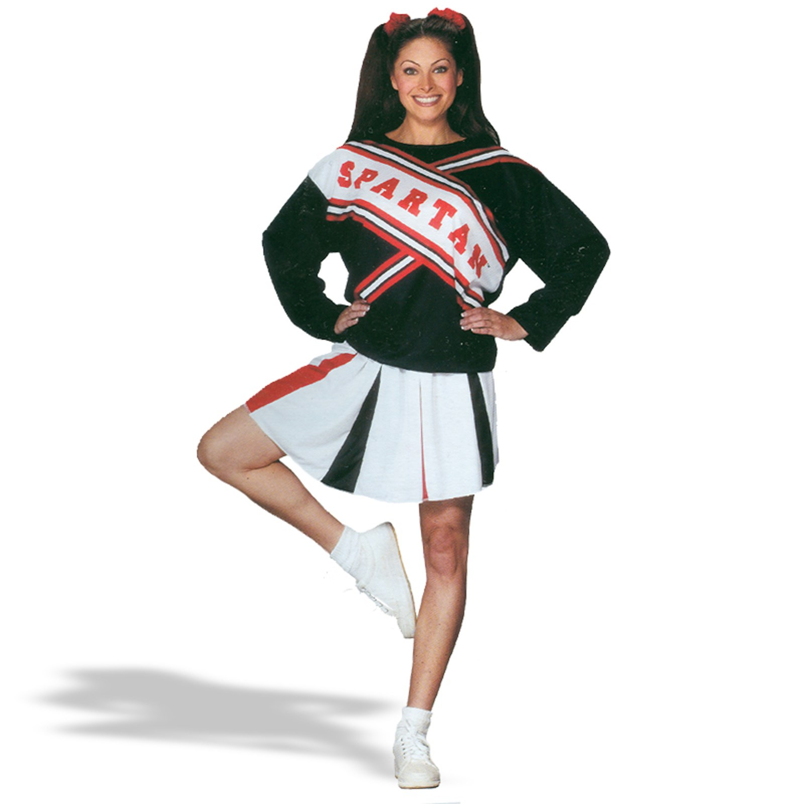 SNL Spartan Cheerleader Female Adult Costume