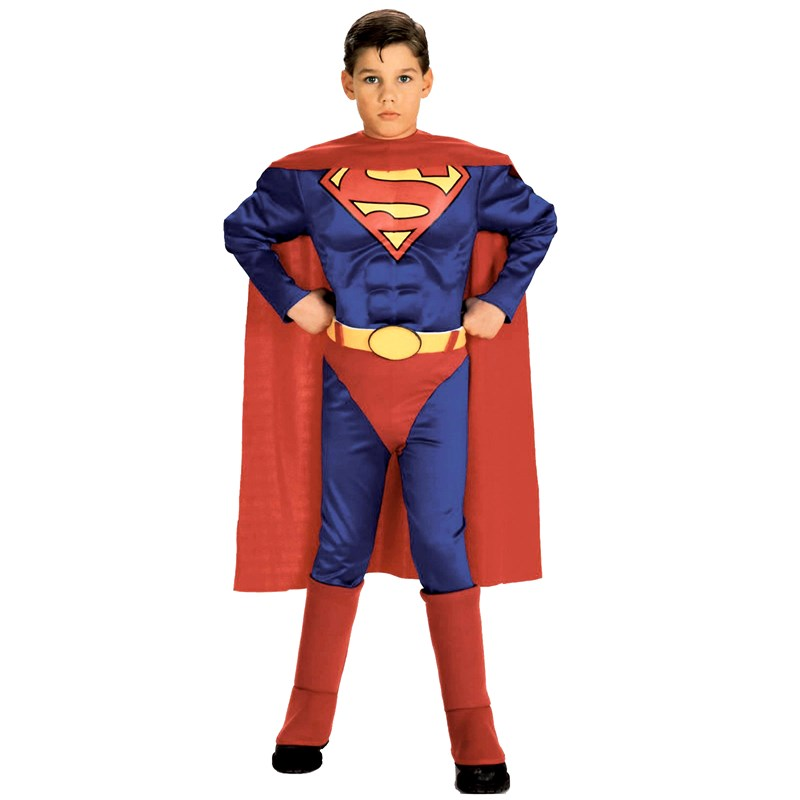 Superman with Chest Toddler  and  Child Costume for the 2015 Costume season.