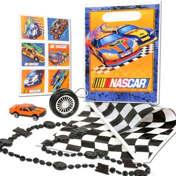 NASCAR Full Throttle Party Favor Kit