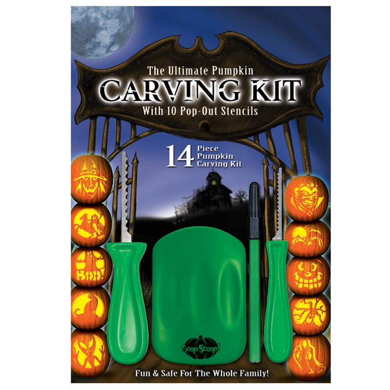 Ultimate Pumpkin Carving Kit for the 2015 Costume season.