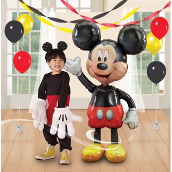 Mickey Mouse Airwalker 52 Jumbo Foil Balloon
