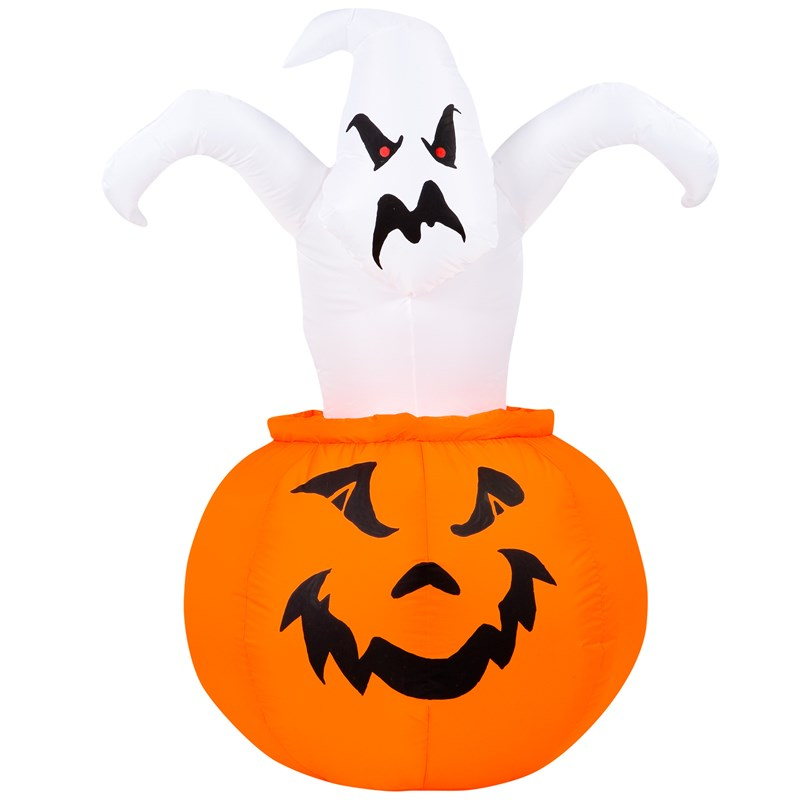 4 Airblown Ghost Out of Pumpkin for the 2015 Costume season.