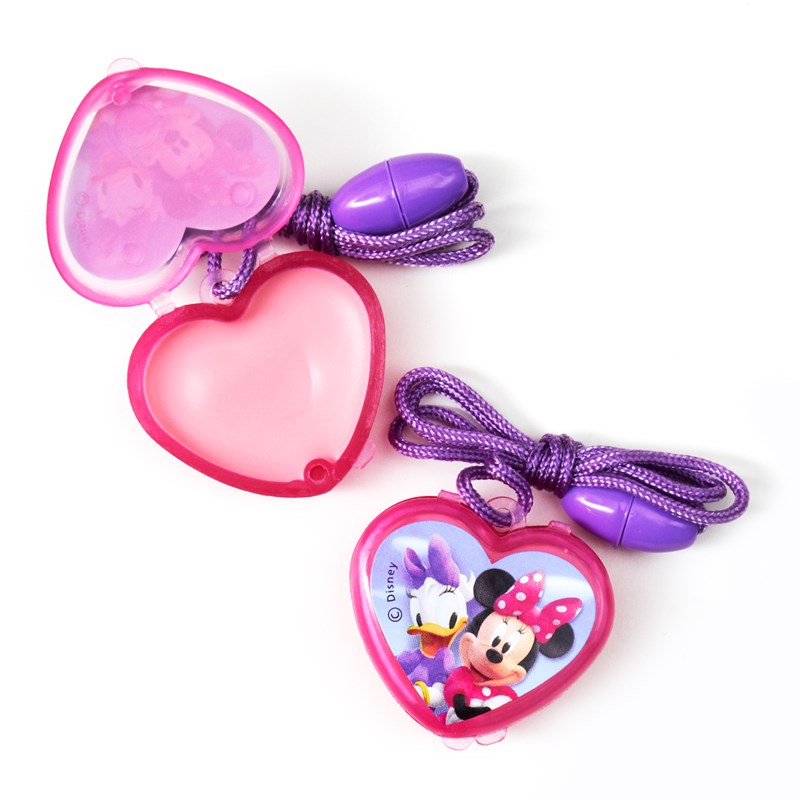 Disney Minnie Lip Gloss Necklaces (4 count) for the 2015 Costume season.