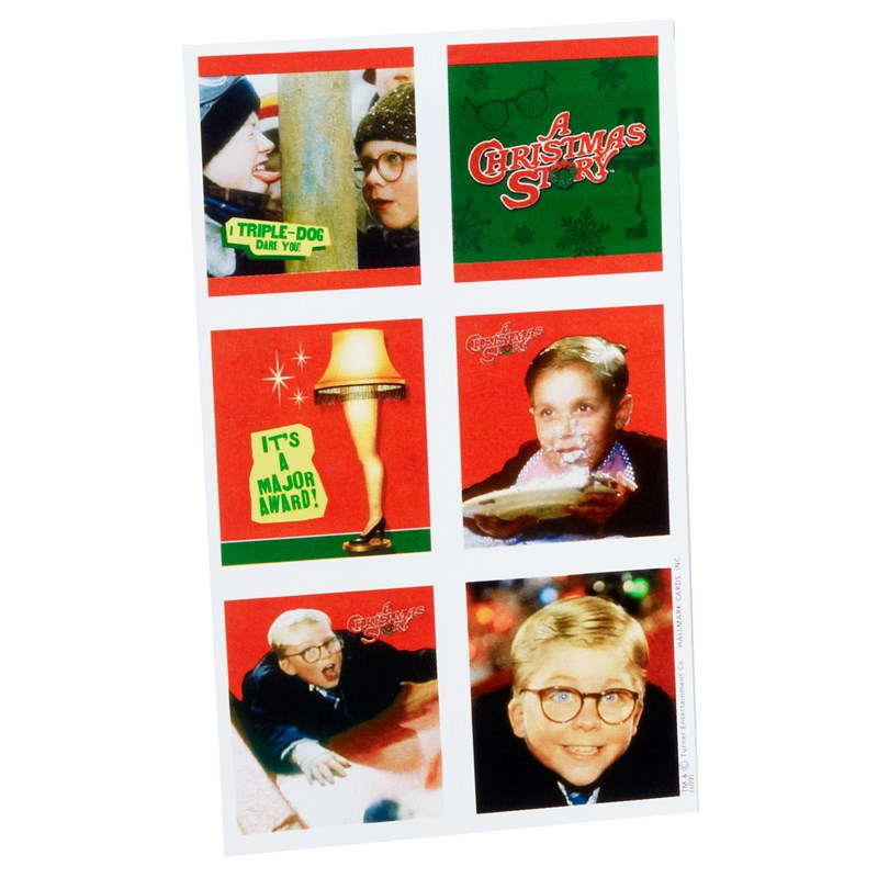 A Christmas Story Stickers (4 sheets) for the 2015 Costume season.