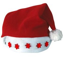 Light-Up Santa Hat