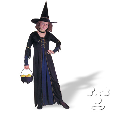 Victorian Witch - halloween witches for kids