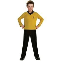 Star Trek Classic Gold Child Costume