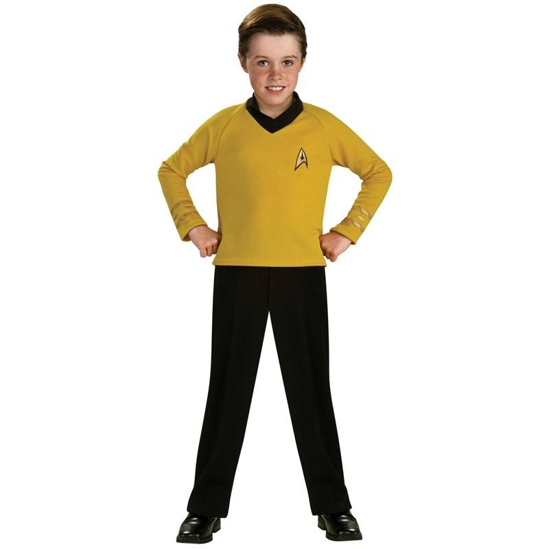 Star Trek Classic Gold Child Costume for the 2015 Costume season.