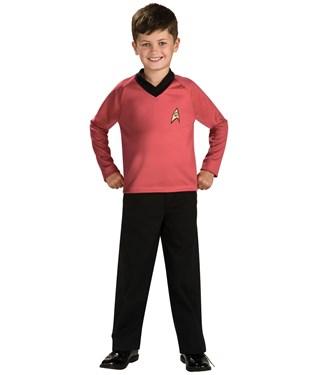 Star Trek Classic Red Child Costume